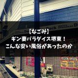 【なごみ】 ギン妻パラダイス堺東! こんな安い風俗があったのか